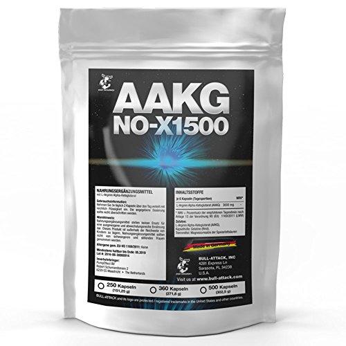 Aakg Nox 1500 360 Kapseln A 500mg Vorratspackung Reines A Akg