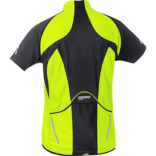 GORE BIKE WEAR 3 in 1 Herren Soft Shell Rennrad Jacke, Jersey und Weste, GORE WINDSTOPPER, PHANTOM 2.0 WS SO Jacket, Größe: L, Neon GelbSchwarz,