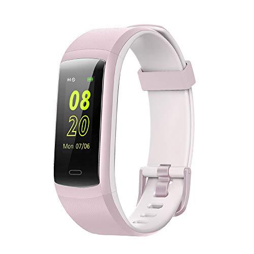 willful fitness armband fitness tracker mit pulsmesser wasserdicht ip68 smartwatch fitness uhr. Black Bedroom Furniture Sets. Home Design Ideas